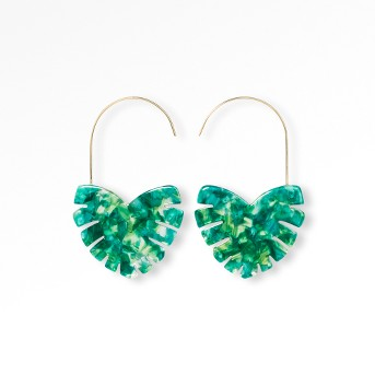 SUGARFIX by BaubleBar Modern Heart Drop Earrings