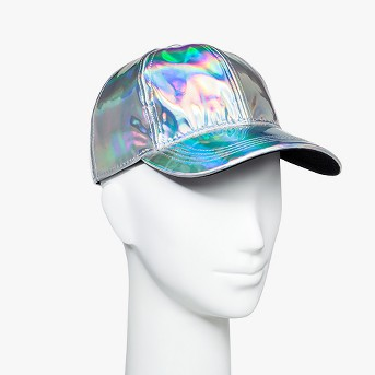 Women's Holographic Baseball Hat - Wild Fable™ Iridescent