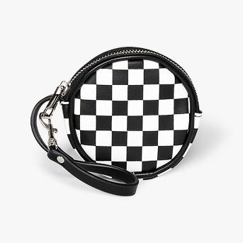 Checkerboard Coin Purse - Wild Fable™ Black/White