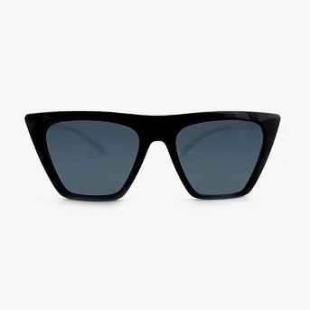 Women's Square Sunglasses with Smoke Lenses - Wild Fable™ Black