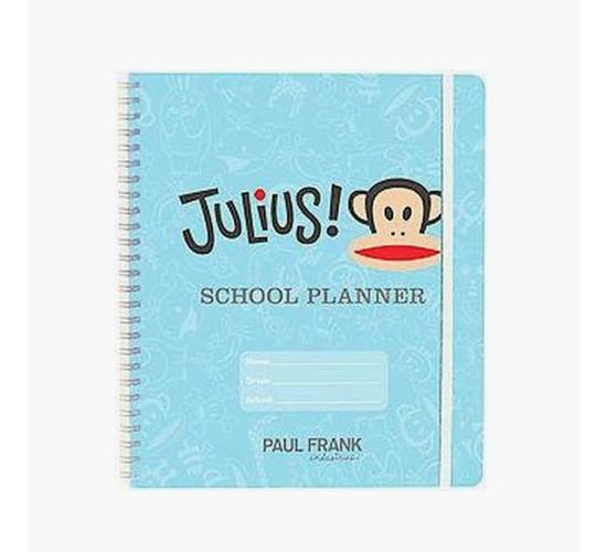 Julius! School Planner (Paperback) (Paul Frank Industries)