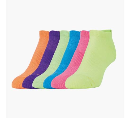 All Pro® Women's 6pk aquafx® no-Show Socks