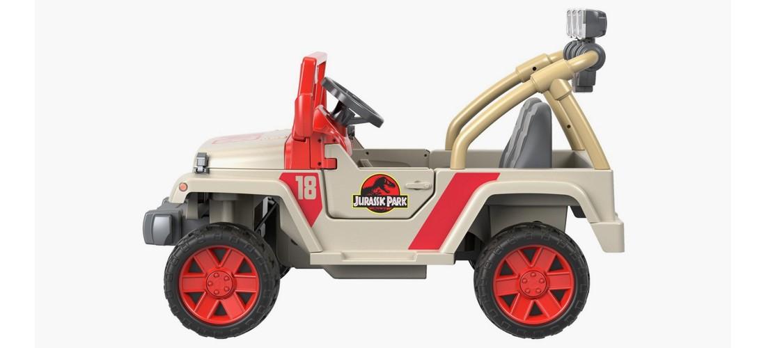 Fisher-Price Power Wheels Jurassic Park Jeep Wrangler