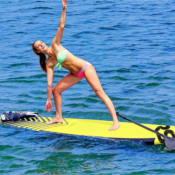 RAVE Sports 11' Chevron™ Soft Top Stand Up Paddle Board