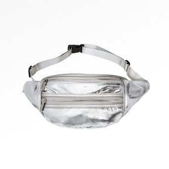 Women's Nylon Fanny Pack - Wild Fable™ Silver