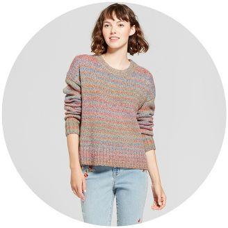 Juniors' Sweaters, Women's Clothing : Target