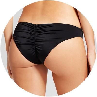 Bikini bathing suit bottoms