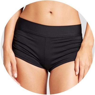 Women short bottom swimsuits