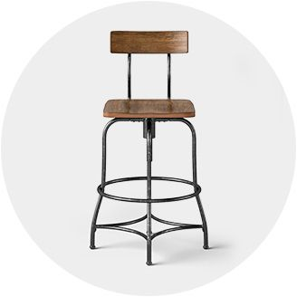 Low Back Bar Amp Counter Stools Target