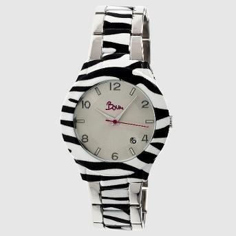 Boum Bombe Women's Unique - Print Bracelet Watch