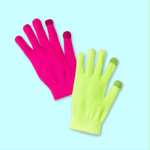 Women's 3pk Magic Gloves - Wild Fable™ Neon/Pink/Yellow One Size
