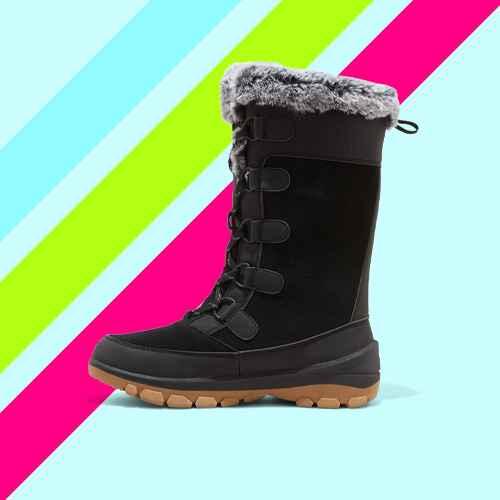 Women's Cecily Waterproof Winter Boots - All in Motion™ Black 6
