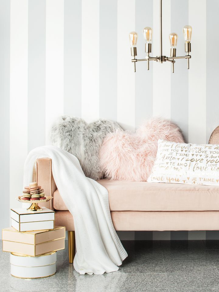 love our luxe collection valentines decor - Modern Home Decor