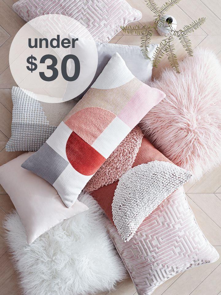 femme luxe throw pillows