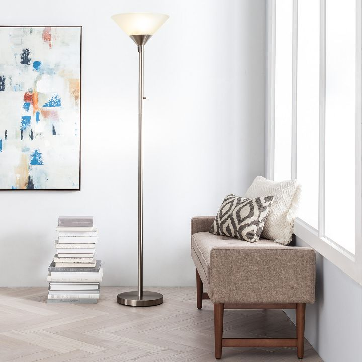 Floor lamps lighting home decor target for Home decorations at target