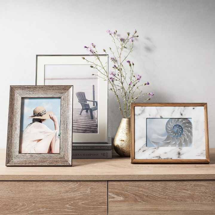 How To Display Picture Frames On A Table Of Picture Frames Target