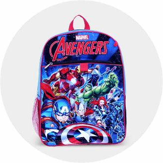 2415b68897 Shop featured characters. Avengers Backpacks