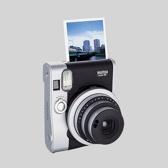 Fujifilm Instax Mini 90 Neo Classic Instant Film Camera - Black/ Gray (16404571)