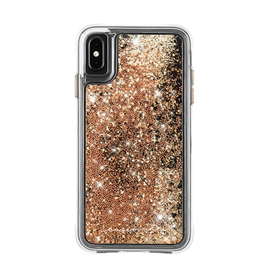 Case-Mate Apple iPhone XS Max Waterfall Case - Gold