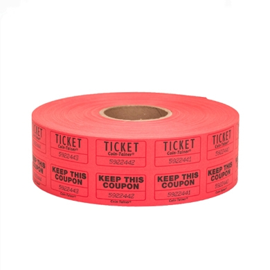 Coin-Tainer Double Roll Tickets 2000-ct.