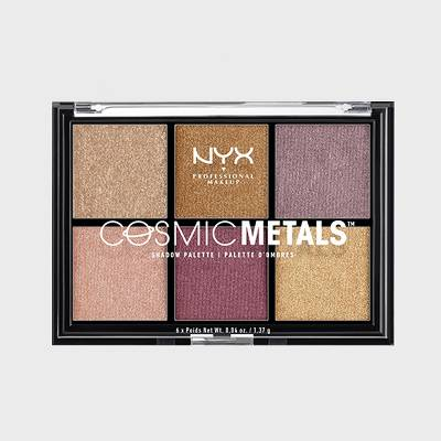 NYX Professional Makeup Cosmic Metals Eyeshadow Palette - 0.04oz