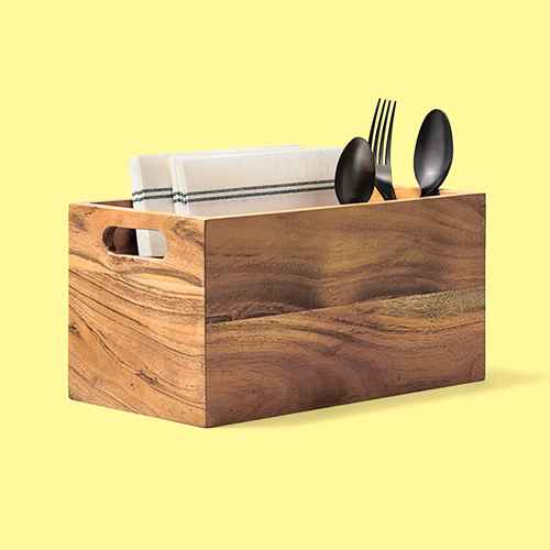 Wood Utensil Caddy - Hearth & Hand™ with Magnolia