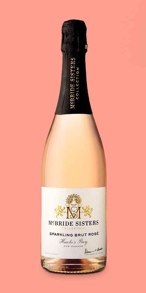 McBride Sisters Sparkling Brut Rosé Wine - 750ml Bottle, Black Girl Magic Sparkling Brut White Wine - 750ml Bottle