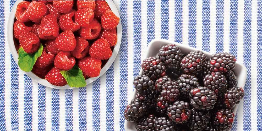 Blackberries - 6oz Package, Driscoll's Raspberries - 6oz Package