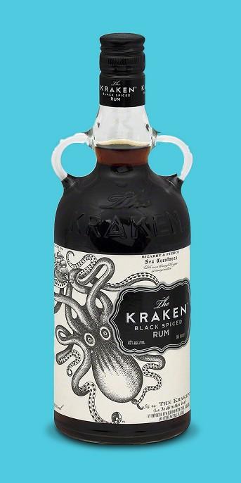 The Kraken® Black Spiced Rum - 750mL Bottle