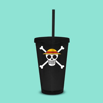 Funky People One Piece Jolly Roger 16oz Travel Cup