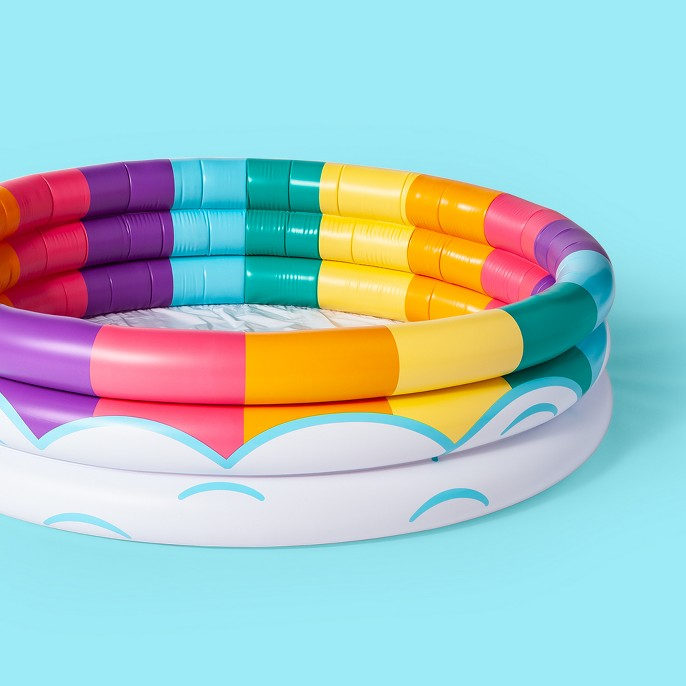Rainbow Cloud Lil' Pool - Sun Squad™