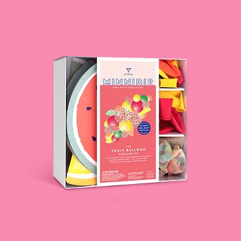 Minnidip Slice Balloon Garland Kit