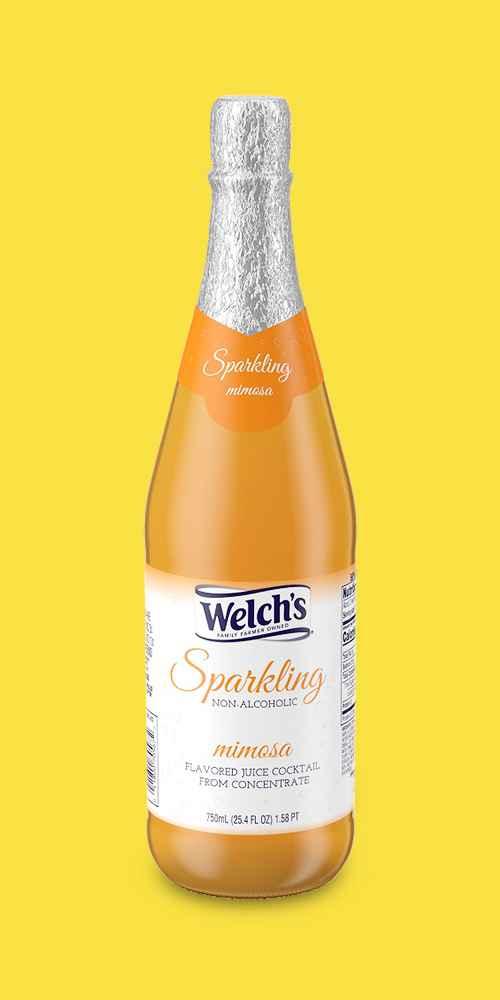 Welch's Sparkling Mimosa Juice Drink - 25.4 fl oz Bottle