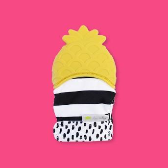 Itzy Ritzy Teething Mitt Pineapple - Yellow