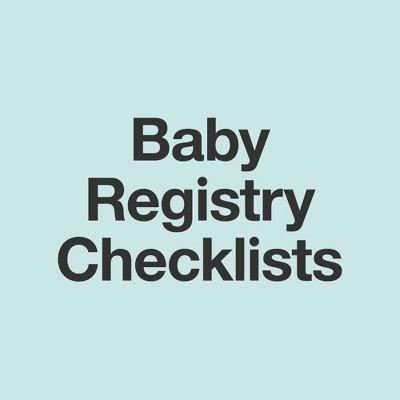 Baby Registry Checklist : Target
