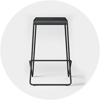Becca stool bamboo furniture modern bamboo Bent Backless The Inspired Room Bar Stools Counter Stools Target