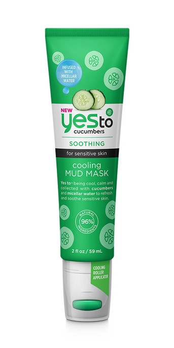 Yes To Cucumbers Cooling Mud Mask Tube - 2oz