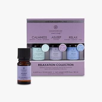 3pk Essential Oils Calmness/Asleep/Relax - Chesapeake Bay Candle