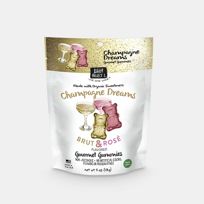 Project 7 Champagne Dreams Gourmet Gummies - 4oz