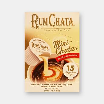 RumChata Mini Chatas - 15 / 25ml cups - 375ml
