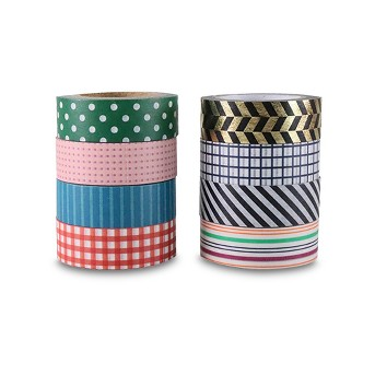 8ct Washi Tape Classic Patterns - Hand Made Modern
