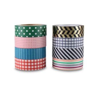 8ct Washi Tape Classic Patterns - Hand Made Modern