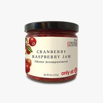 The Gracious Gourmet Cranberry Raspberry Jam Fruit Spreads - 8oz