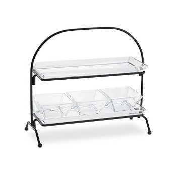 Artland® Courtland Rectangle 2pc Serving Stand 2-Tier