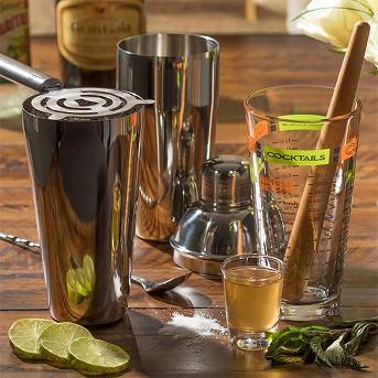 Libbey 9pc Mixologist Cocktail Bar Set