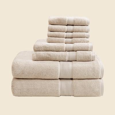 8pc Cotton Bath Towel Set
