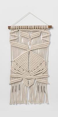 Woven Cotton Macrame Wall Tapestries - Opalhouse™