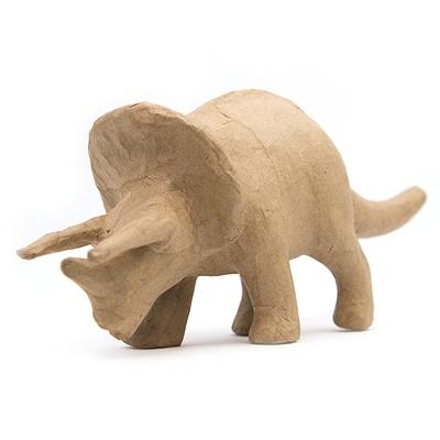Kid Made Modern® Dinosaur Triceratops Figurine - Kraft
