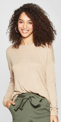 Women's Long Sleeve Crew Neck Pullover Sweater - A New Day™