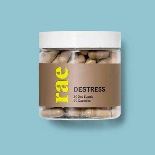 Rae Destress Dietary Supplement Capsules - 60ct